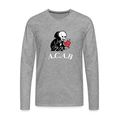 A.C.A.B la mort - T-shirt manches longues Premium Homme
