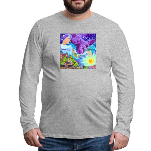 Magisk - Herre premium T-shirt med lange ærmer
