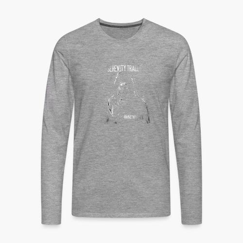 #NewHate Cover art - Premium langermet T-skjorte for menn
