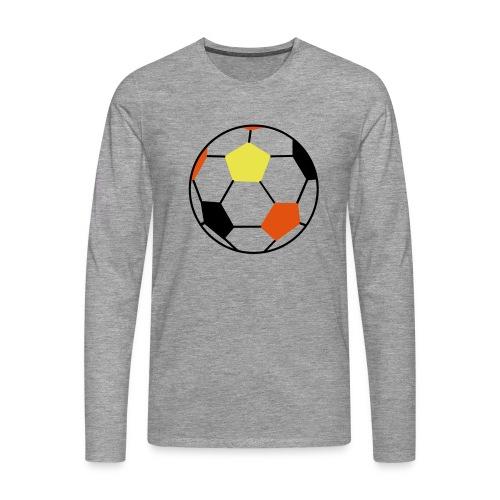 Fußball Deutschland - Männer Premium Langarmshirt