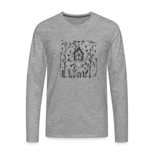 Vogelhuisje - T-shirt manches longues Premium Homme