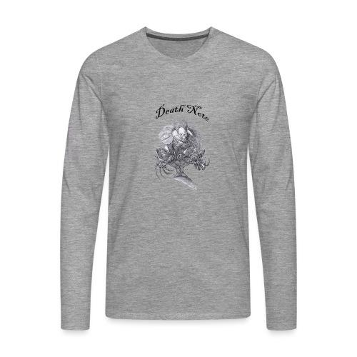 death note t-shirt - T-shirt manches longues Premium Homme