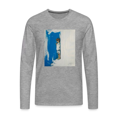 THE CHOICE - Koszulka męska Premium z długim rękawem