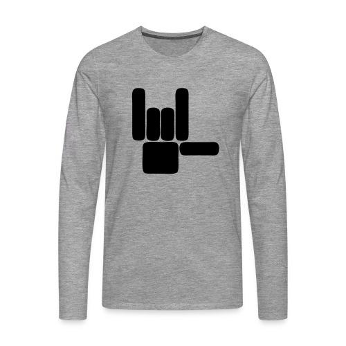 Beau Qui T'Eau boxershort - Mannen Premium shirt met lange mouwen