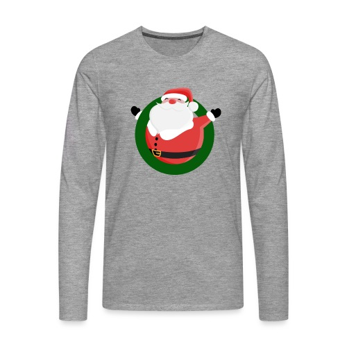 Dagar Till Jul - Långärmad premium-T-shirt herr