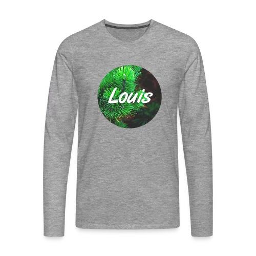 Louis round-logo - Männer Premium Langarmshirt