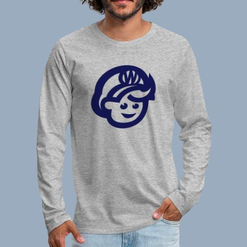 logo bb spreadshirt bb kopfonly - Männer Premium Langarmshirt