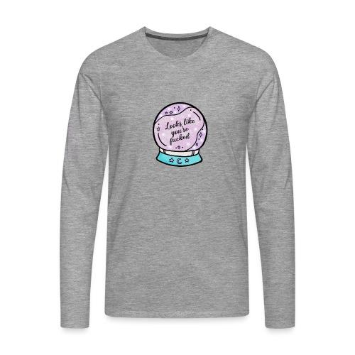 2020 Worst Year Ever Psychic - Men's Premium Longsleeve Shirt