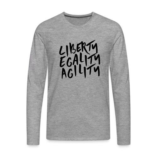 Liberty Egality Agility - T-shirt manches longues Premium Homme