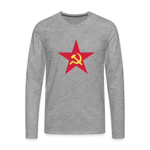 Russenstern - Männer Premium Langarmshirt