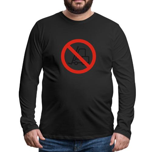 Stapler Crew Stagehand - Männer Premium Langarmshirt