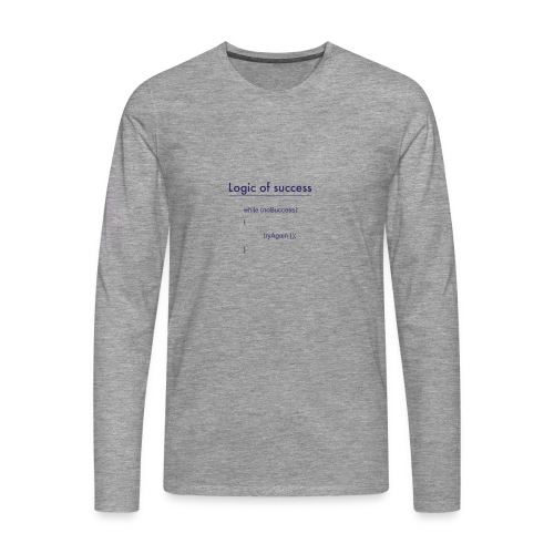 success - Männer Premium Langarmshirt