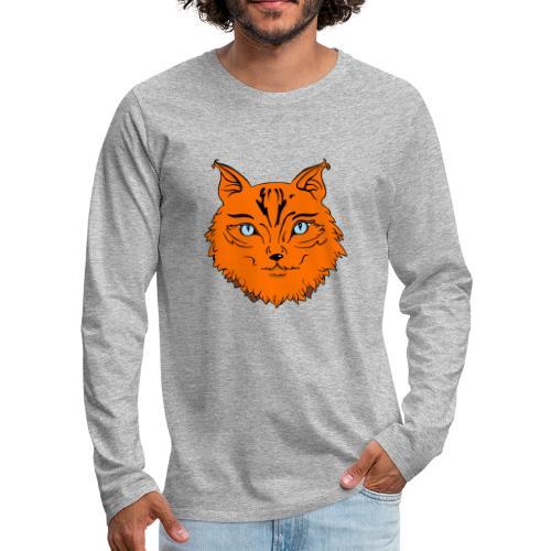 Dilo le renard - T-shirt manches longues Premium Homme
