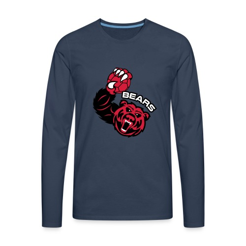 Bears Handball - T-shirt manches longues Premium Homme