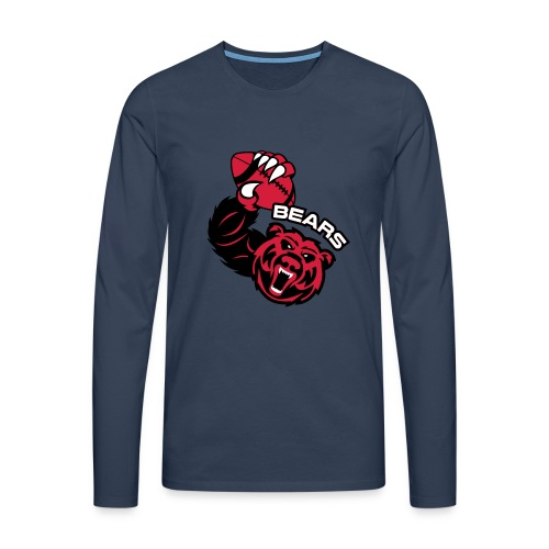 Bears Rugby - T-shirt manches longues Premium Homme
