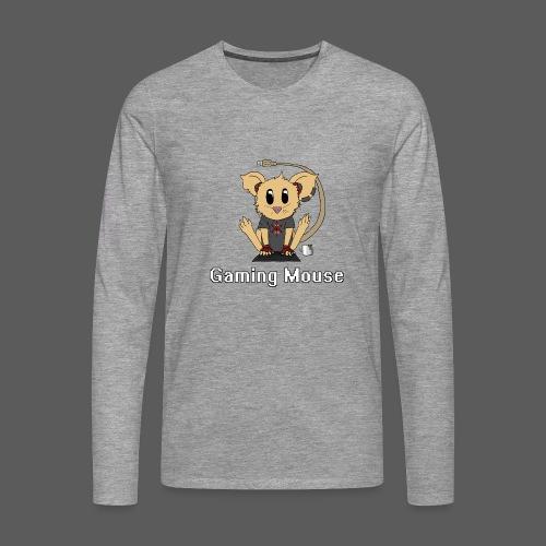 Gaming Mouse - Männer Premium Langarmshirt