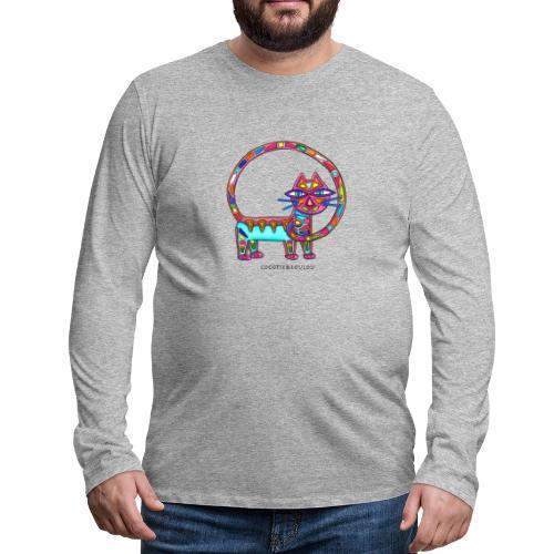 Fiboniccat - T-shirt manches longues Premium Homme
