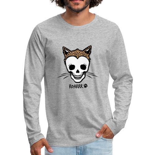Wild-Katzen-Liebe - Männer Premium Langarmshirt