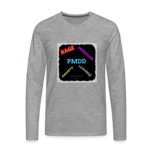 Pmdd symptoms - Men's Premium Longsleeve Shirt