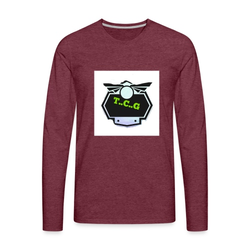 Cool gamer logo - Men's Premium Longsleeve Shirt