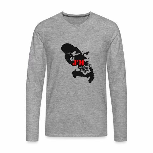 J'M La Martinique - T-shirt manches longues Premium Homme