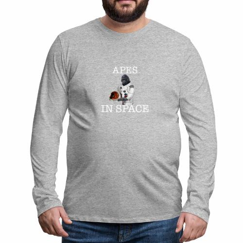 Apes in Space - Men's Premium Longsleeve Shirt