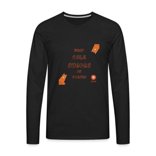 Duna Keep Calm - Premium langermet T-skjorte for menn