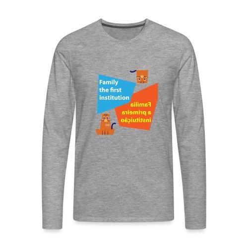 Duna Família - Premium langermet T-skjorte for menn