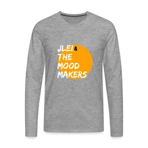 Jlei & The Mood Makers Bandlogo - Männer Premium Langarmshirt