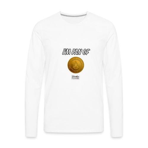 I'm fan of Eos - Maglietta Premium a manica lunga da uomo