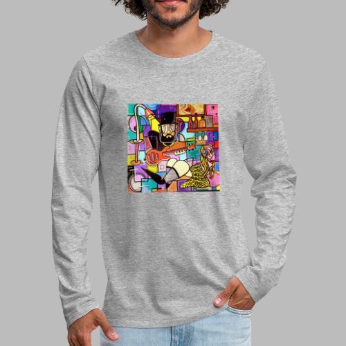 Vunky Vresh Vantastic - Mannen Premium shirt met lange mouwen