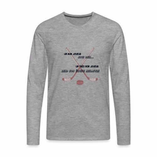 bon joueur - T-shirt manches longues Premium Homme