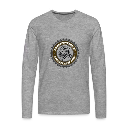 Sprocket Support - Premium langermet T-skjorte for menn