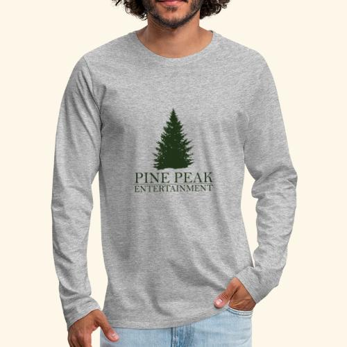 Pine Peak Entertainment - Mannen Premium shirt met lange mouwen