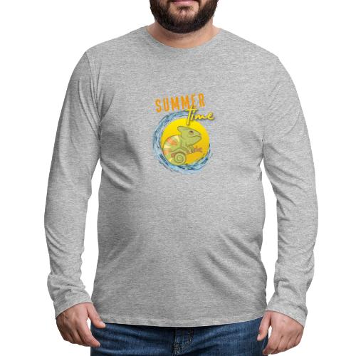 Chamäleon - Männer Premium Langarmshirt