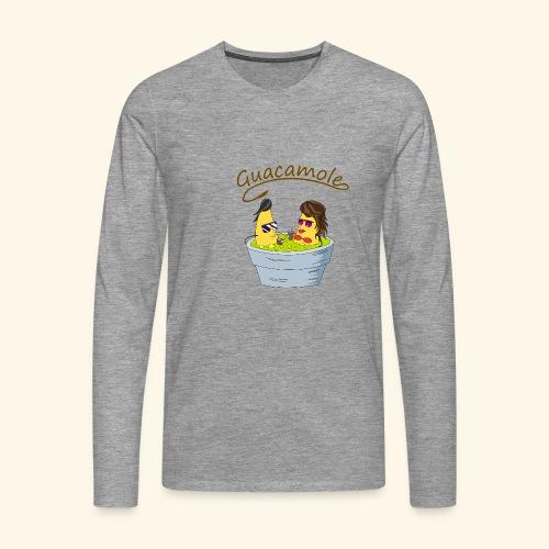 Guacamole - Camiseta de manga larga premium hombre