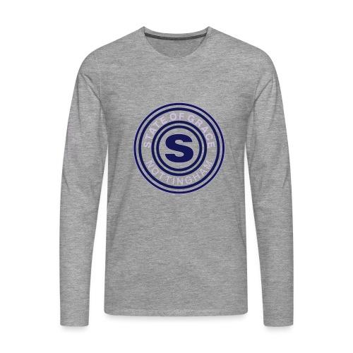 state of grace logo - Men's Premium Longsleeve Shirt