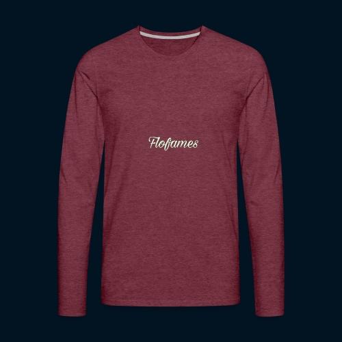 camicia di flofames - Maglietta Premium a manica lunga da uomo