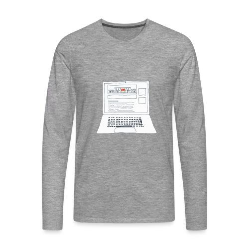 Laptop 20CENT Retail - T-shirt manches longues Premium Homme