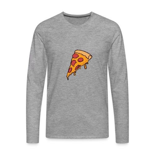Pizza - Camiseta de manga larga premium hombre