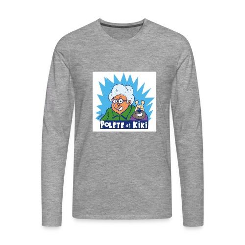 tshirt polete et kiki 1 - T-shirt manches longues Premium Homme