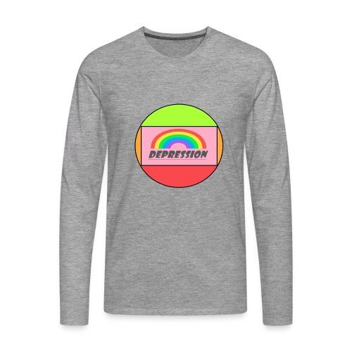 Depressed design - Men's Premium Longsleeve Shirt