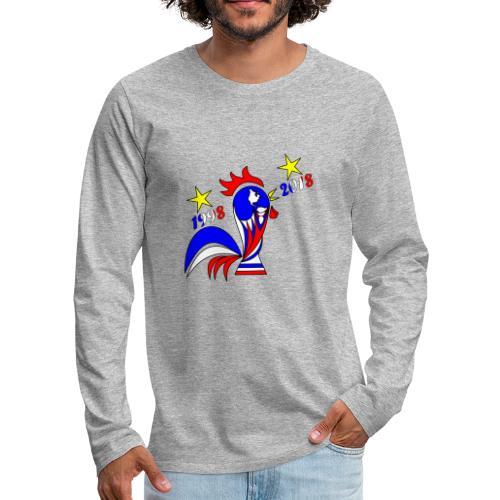 coupe du monde football 2018 mondial France 2018 - T-shirt manches longues Premium Homme