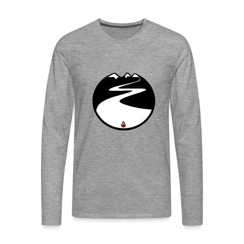 Montagne noire - T-shirt manches longues Premium Homme