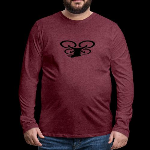 Einseitig bedruckt - Männer Premium Langarmshirt