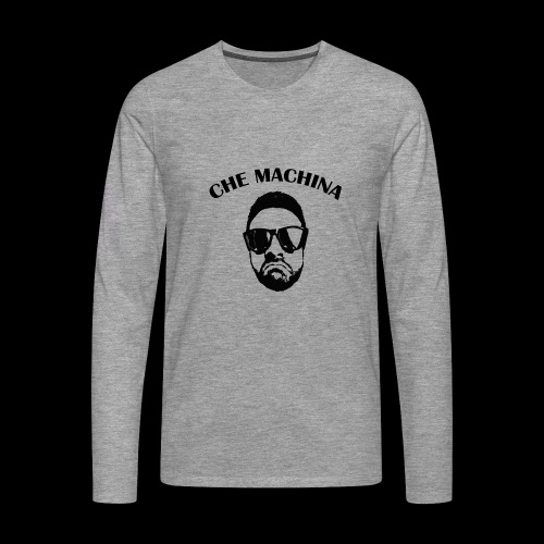 CHE MACHINA - Maglietta Premium a manica lunga da uomo