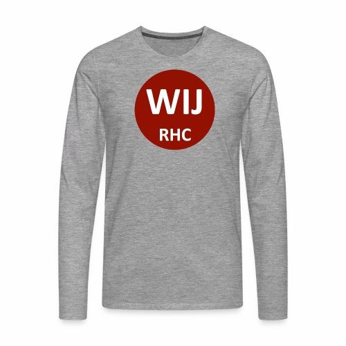 WIJ RHC - Mannen Premium shirt met lange mouwen