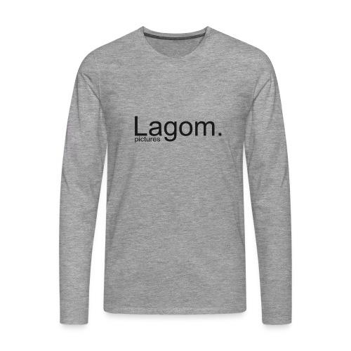 Lagom Pictures Logo Dark - Men's Premium Longsleeve Shirt