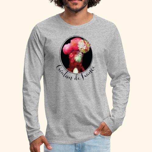 Création de France - T-shirt manches longues Premium Homme
