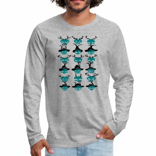 Trachtenrockabilly - Männer Premium Langarmshirt